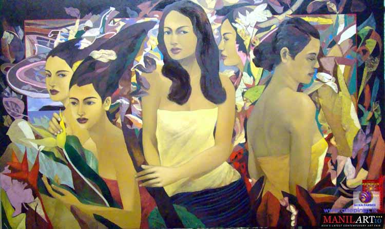 Hermes Alegre paints the Filipina   Bicol HomePage